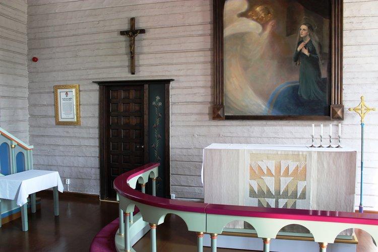 Messu Tervakosken kirkossa
